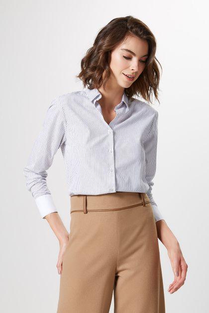 49211c5aa Camisas Femininas da Moda  Jeans