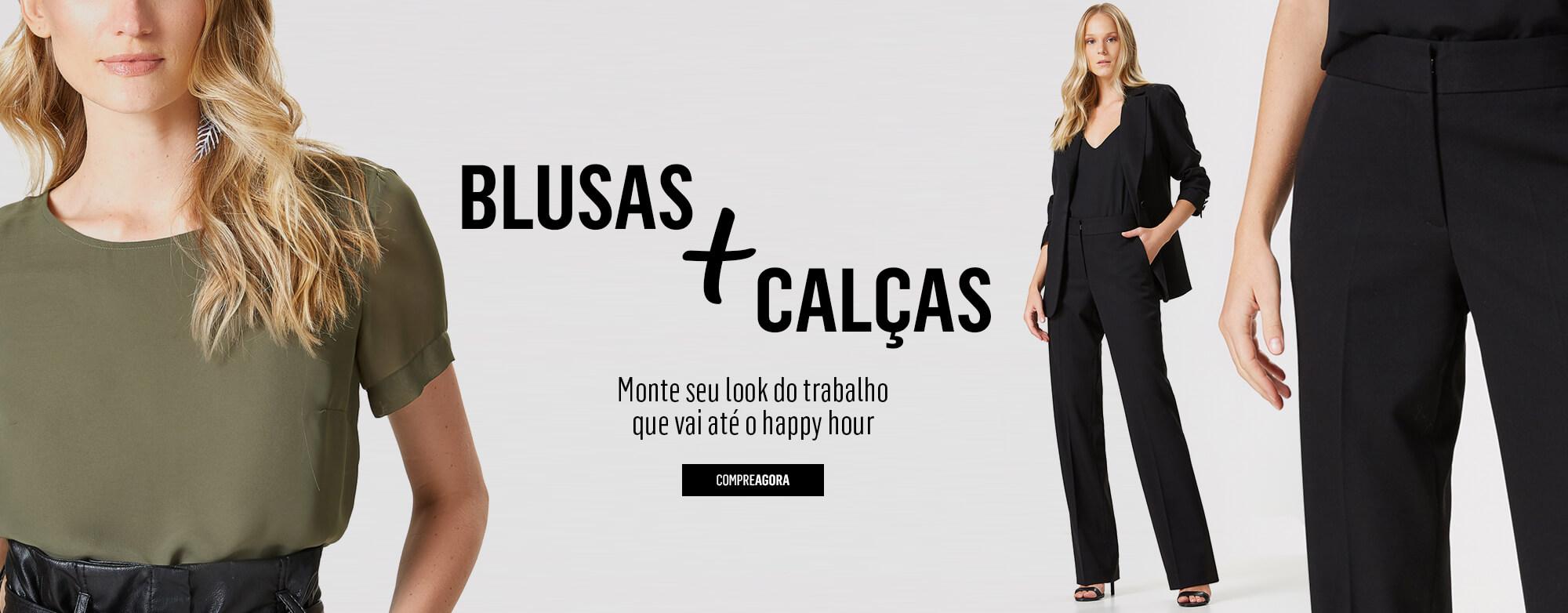 Blusas + Calcas